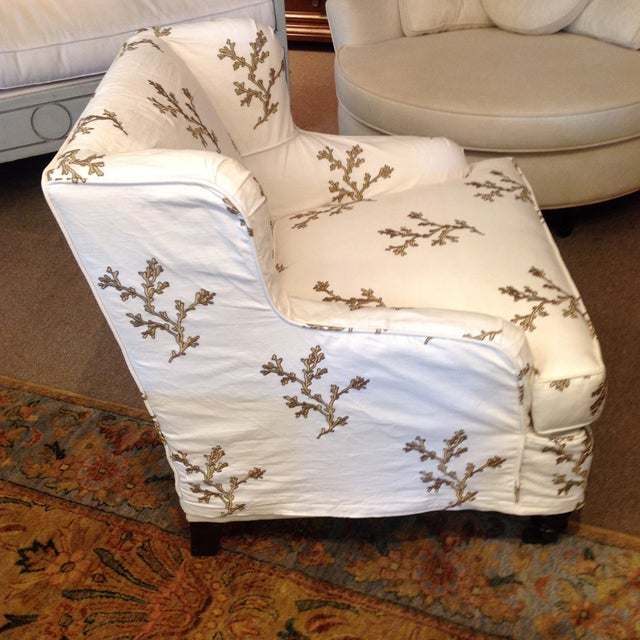 Barclay Butera Taylor Wing Chair - Image 4 of 11