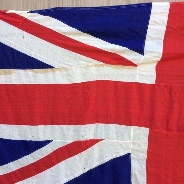 "Vintage ""Union Jack"" British Flag - Ship Flag - Image 10 of 11"