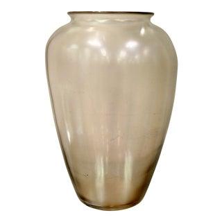 1960s Mid Century Modern Steuben Aurene Iridescent Decorative Art Vase For Sale