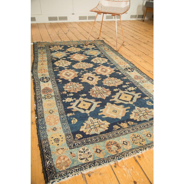 "Antique Malayer Rug Runner - 3'8"" x 6'10"" For Sale - Image 10 of 10"