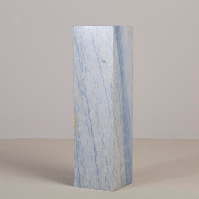 A Rare Italian Blue Marble Pedestal. NB: These items are subject to a further discount over and above the trade when...