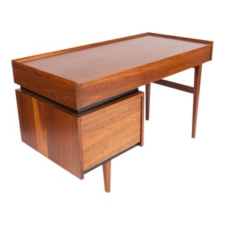 Merton Gershun for Dillingham Floating Walnut Desk