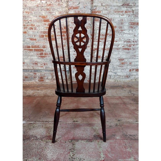18th Century George III Windsor Chairs - Set of 6 For Sale - Image 9 of 10