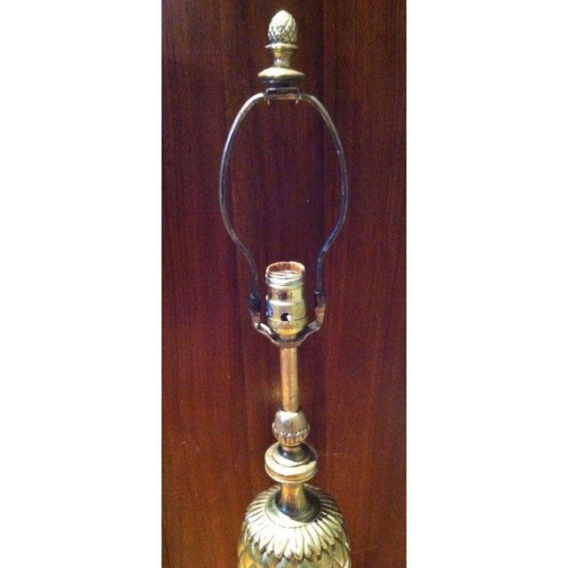 Stiffel Brass Pineapple Table Lamp - Image 9 of 9
