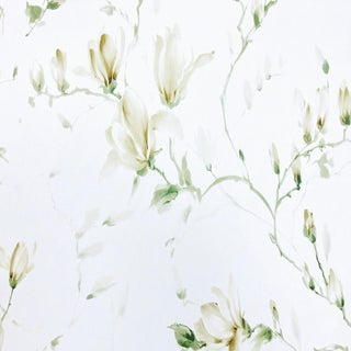 Boho Chic Nina Campbell Magnolia Garden Designer Fabric by the Yard For Sale