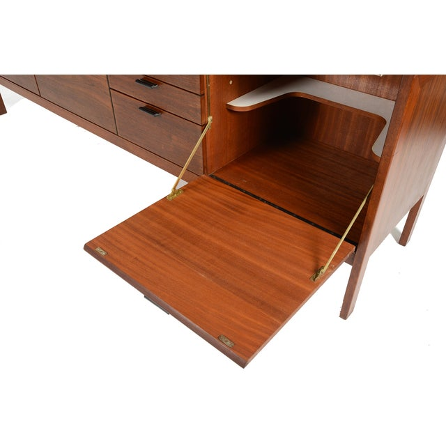 Vintage Meredew Credenza With Leather Pulls - Image 9 of 9