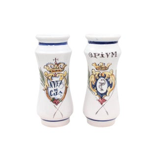 Talevera Opium Apothecary Jars - a Pair Preview
