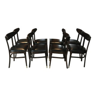 Vintage Mid-Century Modern Dining Chairs - Set of 8