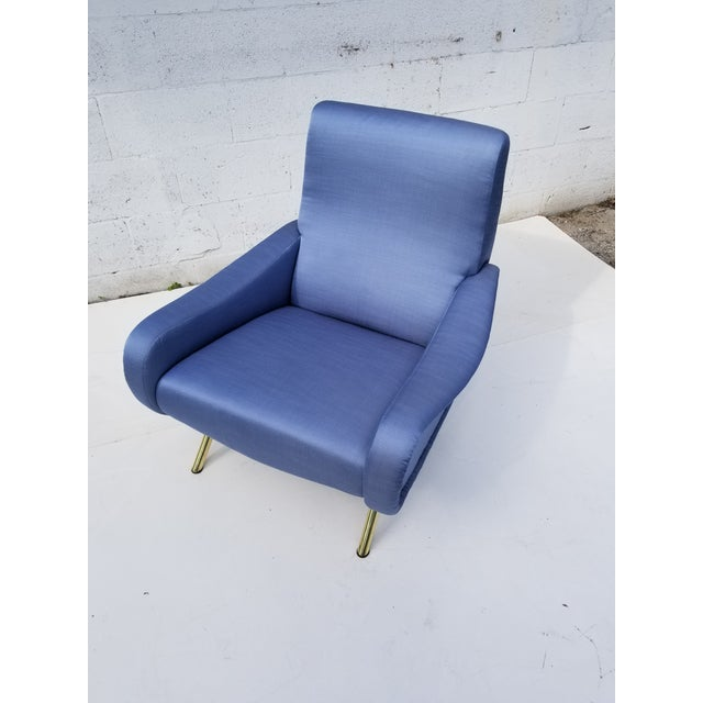 Marco Zanuso Lady Chair- A Pair For Sale - Image 9 of 10