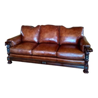 Whittemore-Sherrill Leather Sofa For Sale