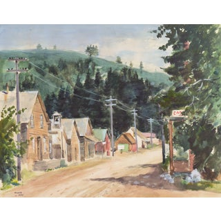 Michel Kady, 'Gold Country, California', Bay Area Artist, Hungarian-American, Foster City, Circa 1965 For Sale