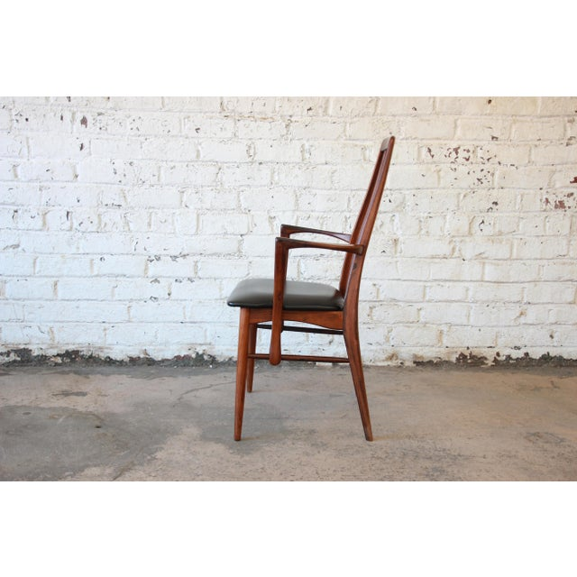 Niels Koefoed for Koefoeds Hornslet Eva Rosewood Dining Chairs- Set of 6 - Image 7 of 11