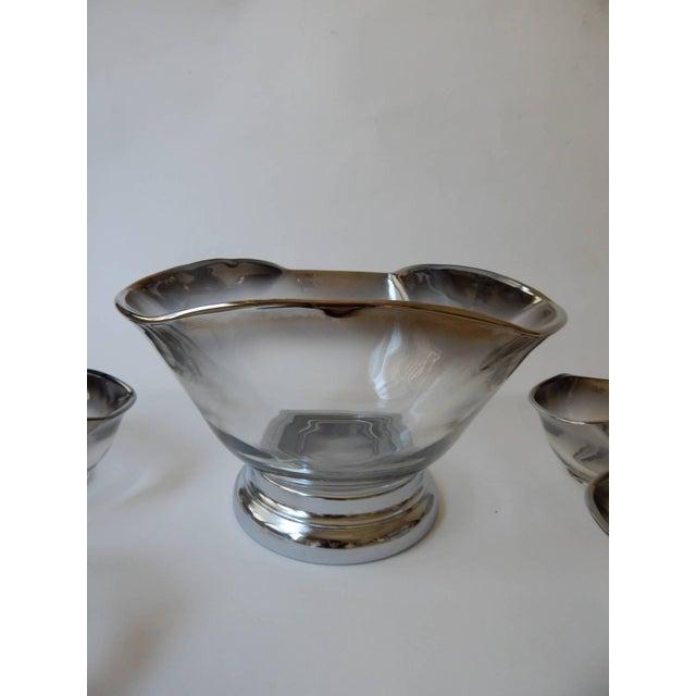 Mid-Century Modern Mid-Century Dorothy Thorpe Bowl Set For Sale - Image 3 of 3
