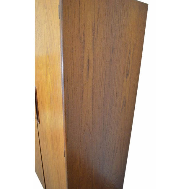 G Plan Mid Century Fresco Teak Wardrobe Armoire - Image 5 of 6
