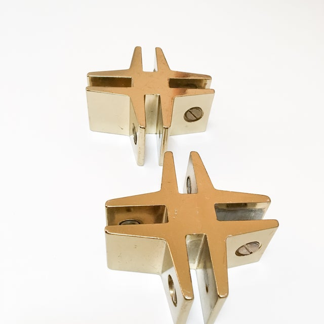 Brass Hashtags with Screw Detail - Pair - Image 6 of 9