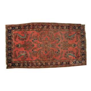 Antique Art Deco Sarouk Rug - 2'8'' X 4'10''