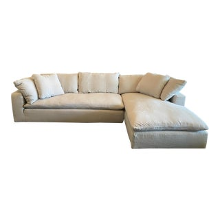 Restoration Hardware Cloud Collection Sectional For Sale