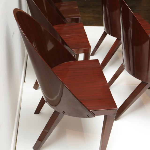 Philippe Starck Philippe Starck Royalton Dining Chairs For Sale - Image 4 of 8