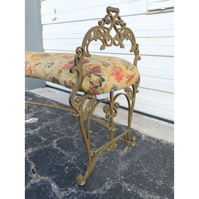 Early 20th Century Early 20th Century French Boudoir Bench For Sale - Image 5 of 12