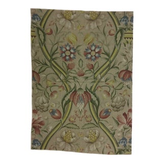 1990s Art Nouveau Heavy Upholstery Fabric For Sale
