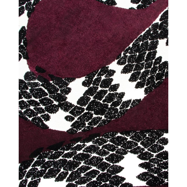 Contemporary Snake 8 Rug From Covet Paris For Sale - Image 3 of 5
