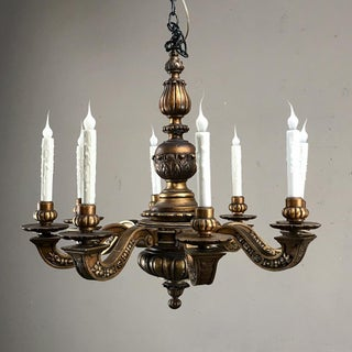 Antique Italian Giltwood Chandelier Preview