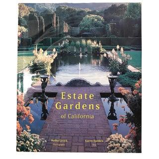 """Estate Gardens of California"" 2002 First Edition Rizzoli Garden Book For Sale"