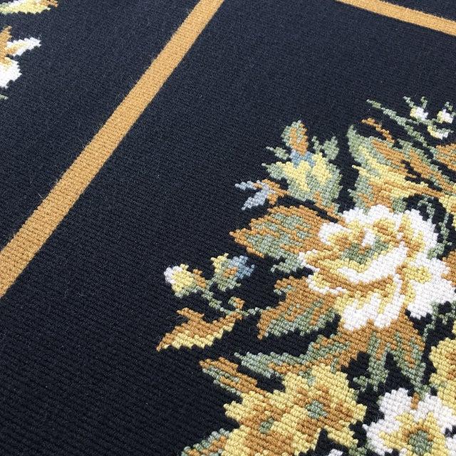 Stark Floral Motif Area Rug - 11′2″ × 14′6″ - Image 7 of 10