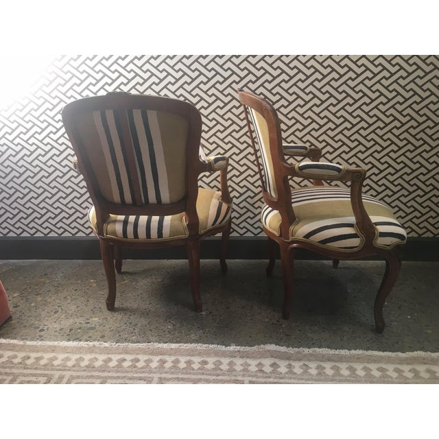 A Pair of Fateuil Chair For Sale - Image 4 of 5
