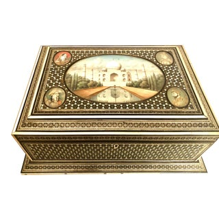 Late 19th Century Middle Eastern Box For Sale