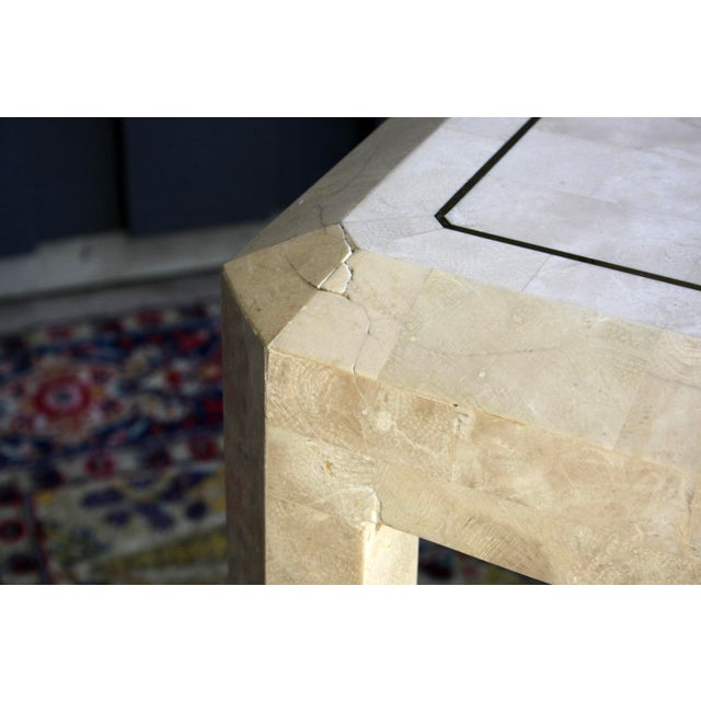 Maitland Smith Tessellated Marble Tables, a Pair For Sale - Image 12 of 13