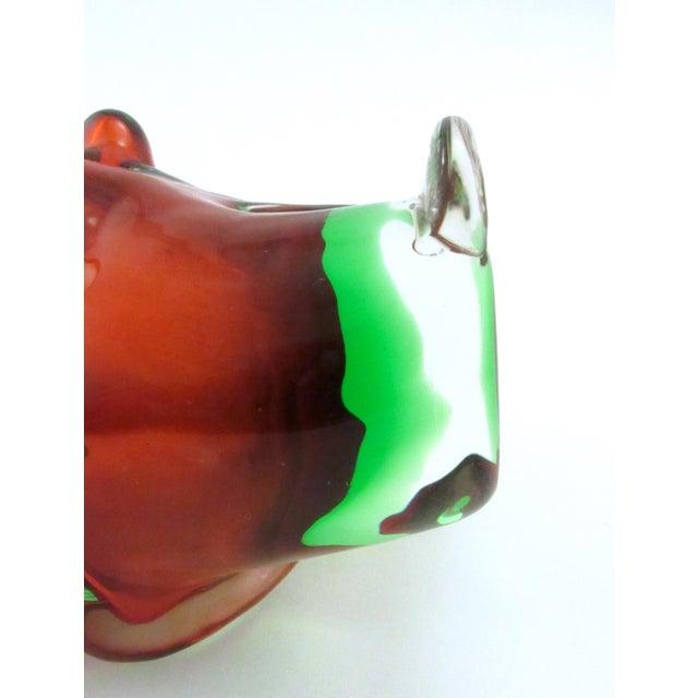 Mid-Century Modern Vintage 1969 Drioli Murano Glass Liqueur Bottle For Sale - Image 3 of 11