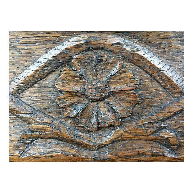 English Hand-Carved Tray - Image 2 of 3