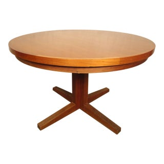 Exceptional Mid-Century Extending Table by Dyrlund For Sale
