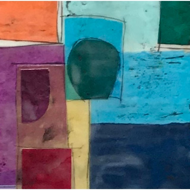 """""""Castling No. 1"""" - Encaustic Collage Painting by Gina Cochran For Sale In Washington DC - Image 6 of 6"""