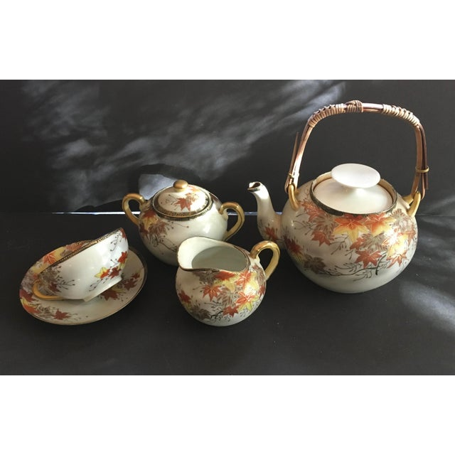19th Century Japanese Tea Set - Image 4 of 4