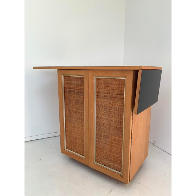 Mid-Century Modern 1960s Vintage Mid Century Bar Cart For Sale - Image 3 of 13