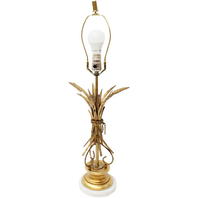 Vintage Wheat Sheath Lamp - Image 1 of 4