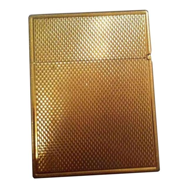 14k Gold Lighter Signed B&A For Sale