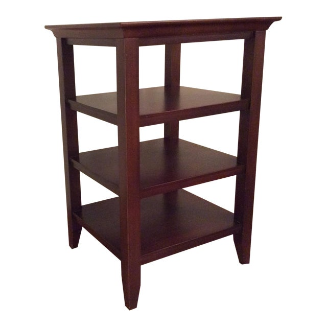 Open Shelf Side Table - Image 1 of 5