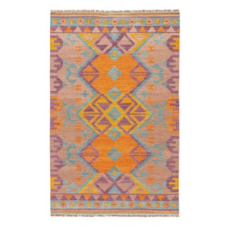 Jaipur Living Kaliediscope Handmade Geometric Multicolor Area Rug - 9′ × 12′ For Sale