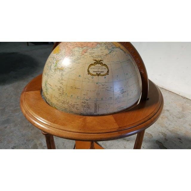 Traditional Replogle Vintage Illuminated Heirloom Globe For Sale - Image 3 of 11