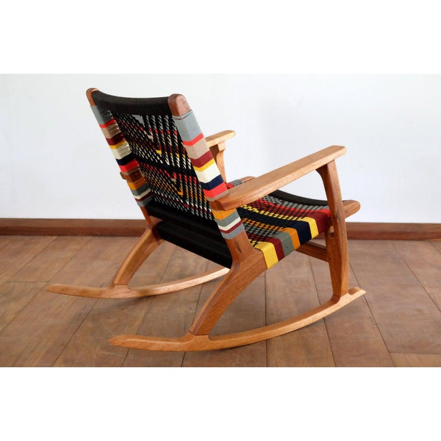 Mid-Century Modern Mid Century Modern Rocking Chair For Sale - Image 3 of 8