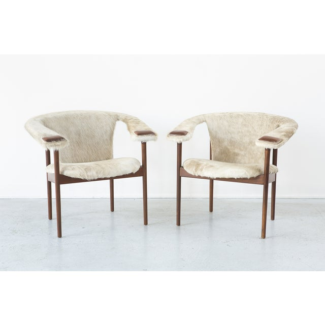 Set of Adrian Pearsall Lounge Chairs - Image 3 of 11