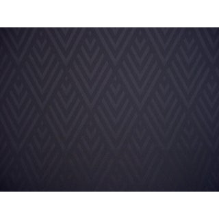 4-3/8y Ralph Lauren Lfy66910f Jazz Age Geometric Chevron Smoke Upholstery Fabric For Sale