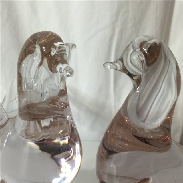 Vintage Murano Glass Birds - Image 4 of 7