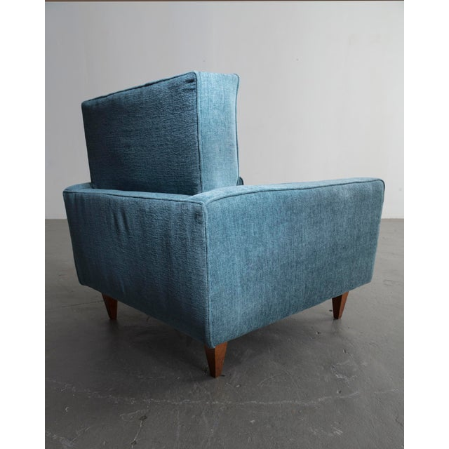 Mid-Century Modern Pair of lounge chairs by Joaquim Tenreiro, Brazil, 1961. For Sale - Image 3 of 6
