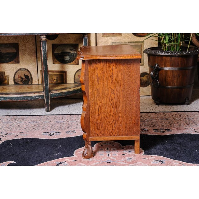Wood Dutch bombe chest For Sale - Image 7 of 9