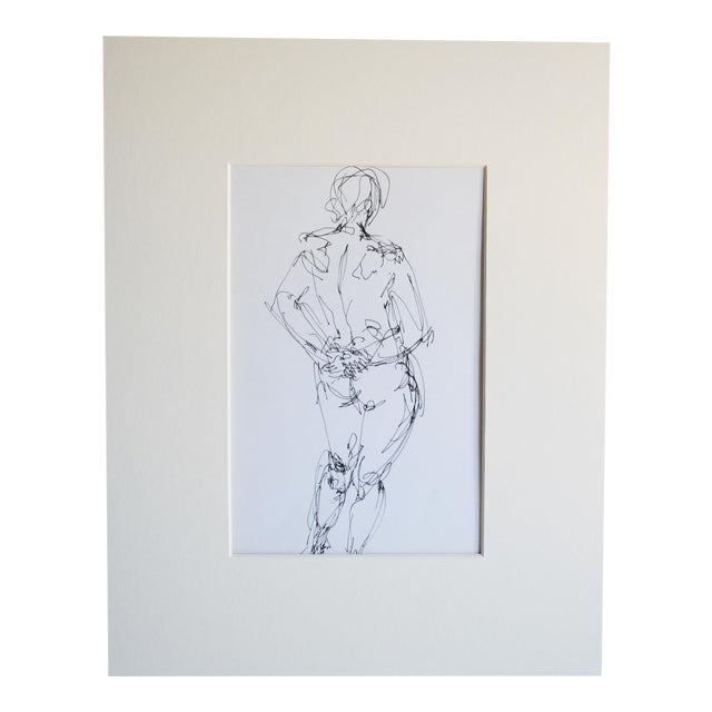 Mid Century Nude Drawing I by Paulina Jones Everitt - Image 1 of 4