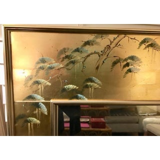 La Barge Vintage Hand Painted Chinoiserie Mirror Preview